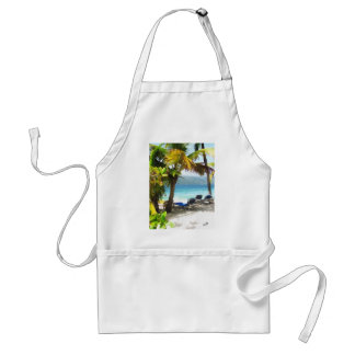 Somewhere in paradise standard apron