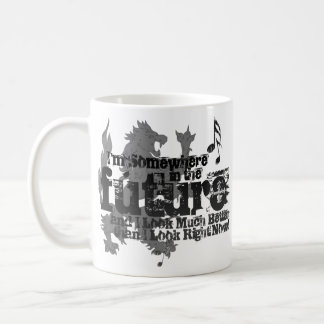 Somewhere In The Future Mug (with Lion)