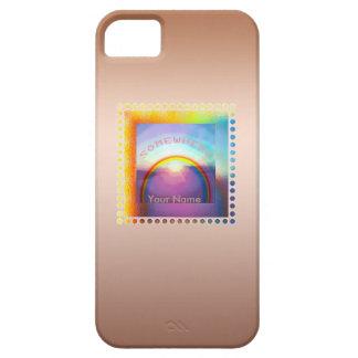"""Somewhere Over the Rainbow"" iPhone5/5S case"