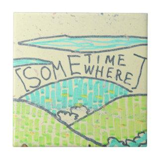 Somewhere / Sometime Ceramic Tiles
