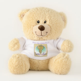 Sommelier Symbol Teddy Bear