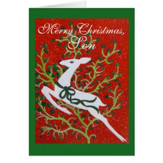 Son, Christmas card