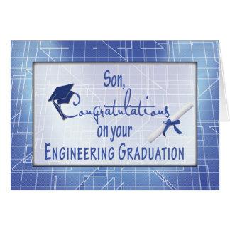 Son, Engineering Graduation Congratulations, Bl Card