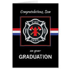 Son, Fire Department Academy Graduation Black Card