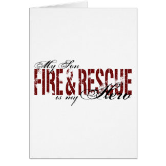 Son Hero - Fire & Rescue Card