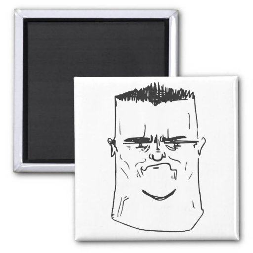 Son I Am Disappoint Father Rage Comic Meme Fridge Magnets
