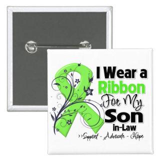 Son-in-Law - Lymphoma Ribbon Pinback Button