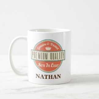 Son in Law Personalized Office Mug Gift