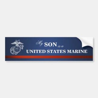 Son is a Marine Bumper Sticker