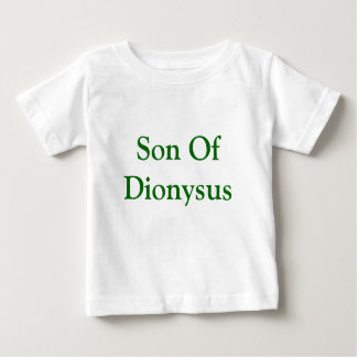 Son of Dionysus baby shirt