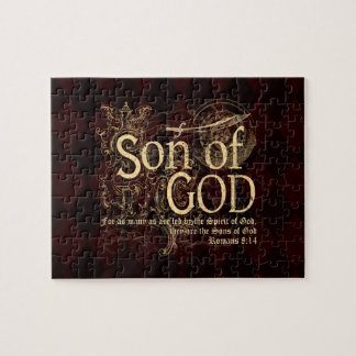Son of God, Romans 8:14 Christian Jigsaw Puzzle
