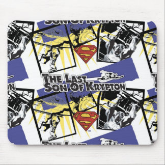 Son of Krypton Collage Mouse Pad