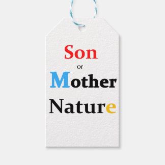 Son Of Mother Nature Pack Of Gift Tags