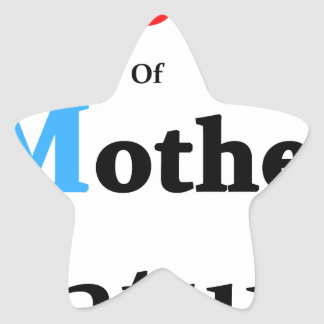 Son Of Mother Nature Star Sticker