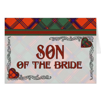 Son of the Bride Invitation - Stewart of Appin