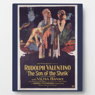 Son of the Sheik Custom Tabletop Plaque