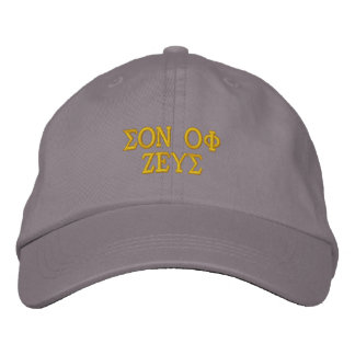 SON OF ZEUS EMBROIDERED BASEBALL CAP