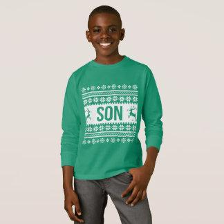 Son shirt Ugly Christmas Sweater boy
