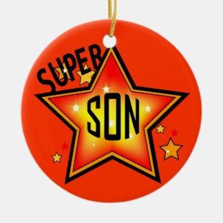 Son Super Star Christmas Ornament