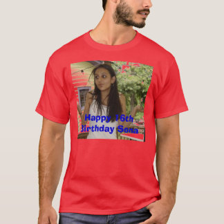Sona.jpg, Happy 16th Birthday Sona T-Shirt