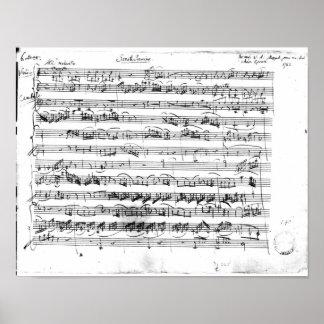 Sonate Premiere for violin and harpsichord Poster
