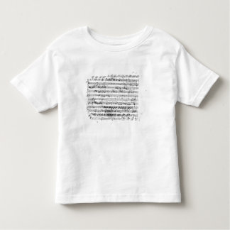 Sonate Premiere for violin and harpsichord Toddler T-shirt