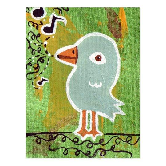 Song Bird Postcard