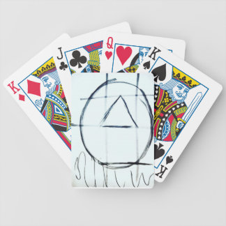 Song Line Bicycle Playing Cards
