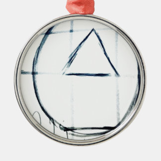 Song Line Metal Ornament