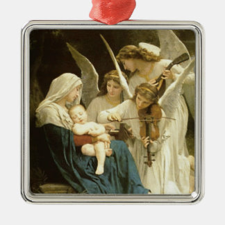 Song of Angels Christmas Nativity Jesus Manger Metal Ornament