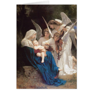 Song of Angels - William Bouguereau Christmas Card