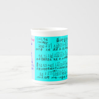 "Song of ""Life is short: Art is long!"" Tea Cup"