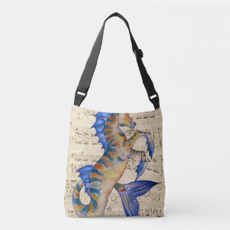 Song of Ocean Crossbody Bag