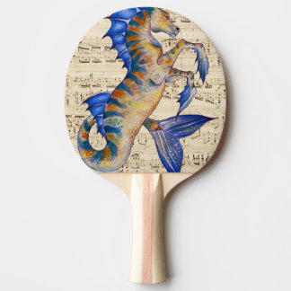 Song of Ocean Ping Pong Paddle