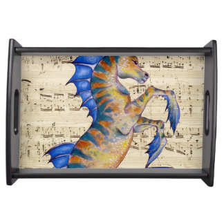Song of Ocean Serving Tray