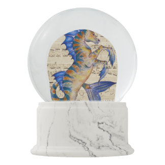 Song of Ocean Snow Globe