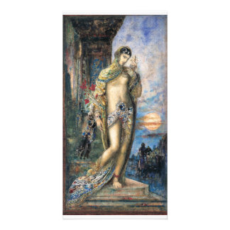 Song of Songs by Gustave Moreau Personalized Photo Card