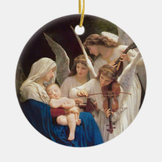 Song of the Angels Christmas Ceramic Ornament