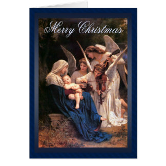 Song of the Angels Christmas Greeting Card
