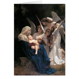"""Song Of The Angels"" Christmas Greeting Card"