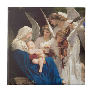 Song of the Angels Christmas Tile