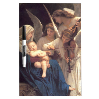 Song of the Angels - William-Adolphe Bouguereau Dry Erase Board