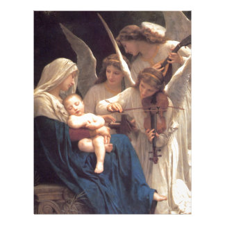 Song of the Angels - William-Adolphe Bouguereau Letterhead