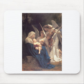 Song of the Angels - William-Adolphe Bouguereau Mouse Pad