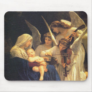 Song of the Angels, William-Adolphe Bouguereau Mouse Pad