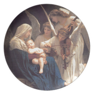 Song of the Angels - William-Adolphe Bouguereau Plate