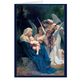 Song of the Angels William Bouguereau Fine Art Greeting Card