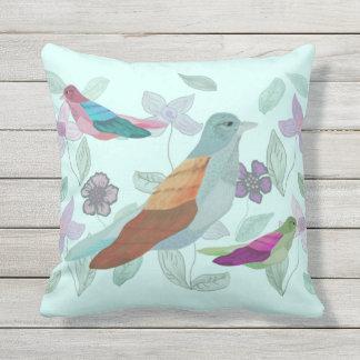 Song of the Bird Throw Pillow