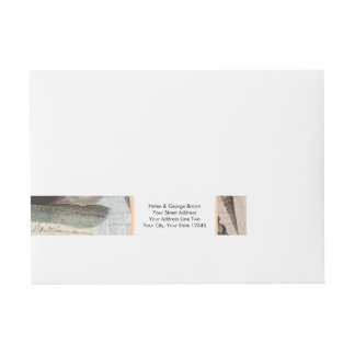 Song of the Whale Wraparound Address Label