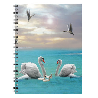 Song Of The White Swan, Notebook